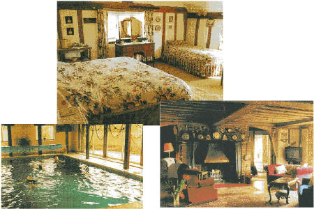 Beautifully appointed rooms and an indoor heated pool